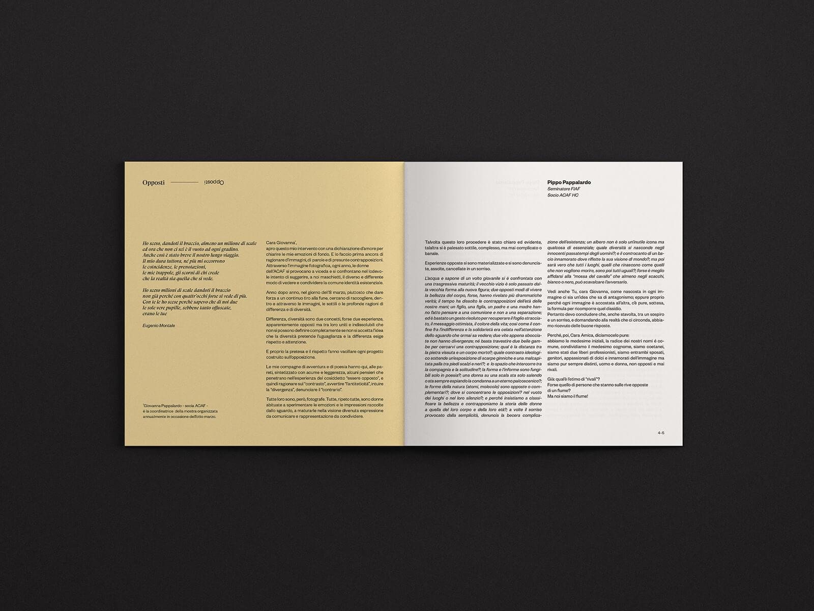 Opposti - Catalogo