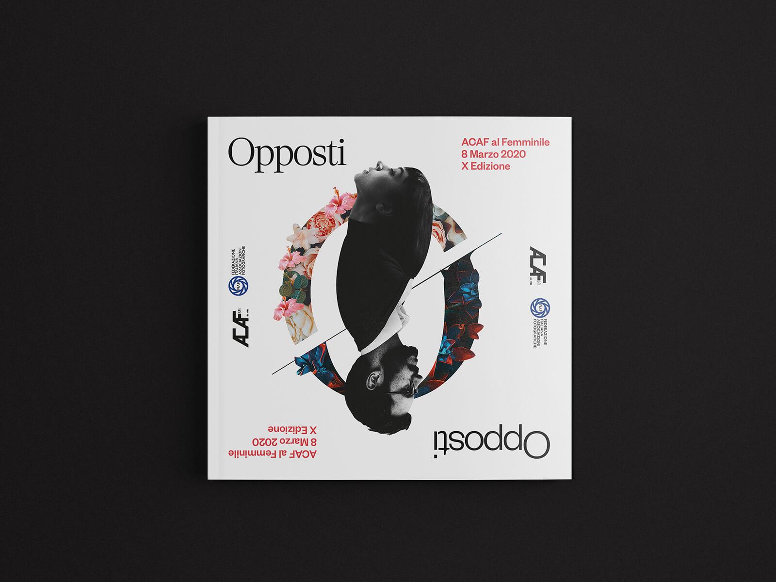 Opposti - Cover catalogo mostra