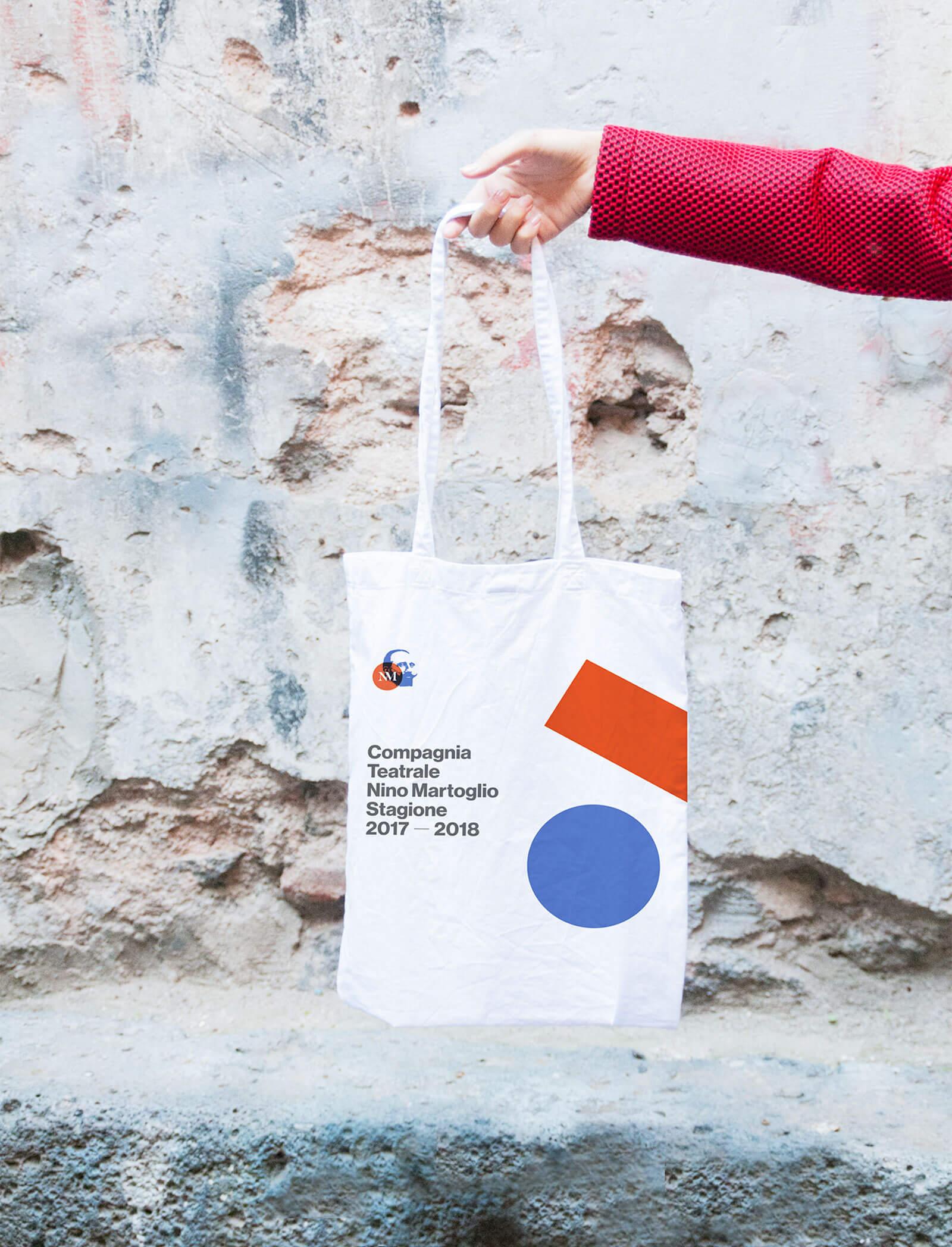 Compagnia Nino Martoglio - tote bag