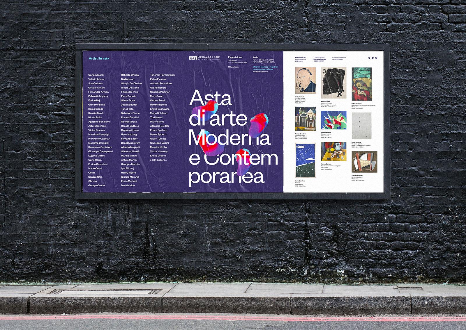 Mediartrade Exhibition - Manifesto pubblicitario