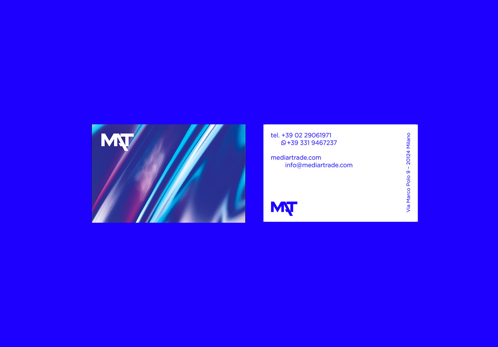 Mediartrade - Business Card - Branding