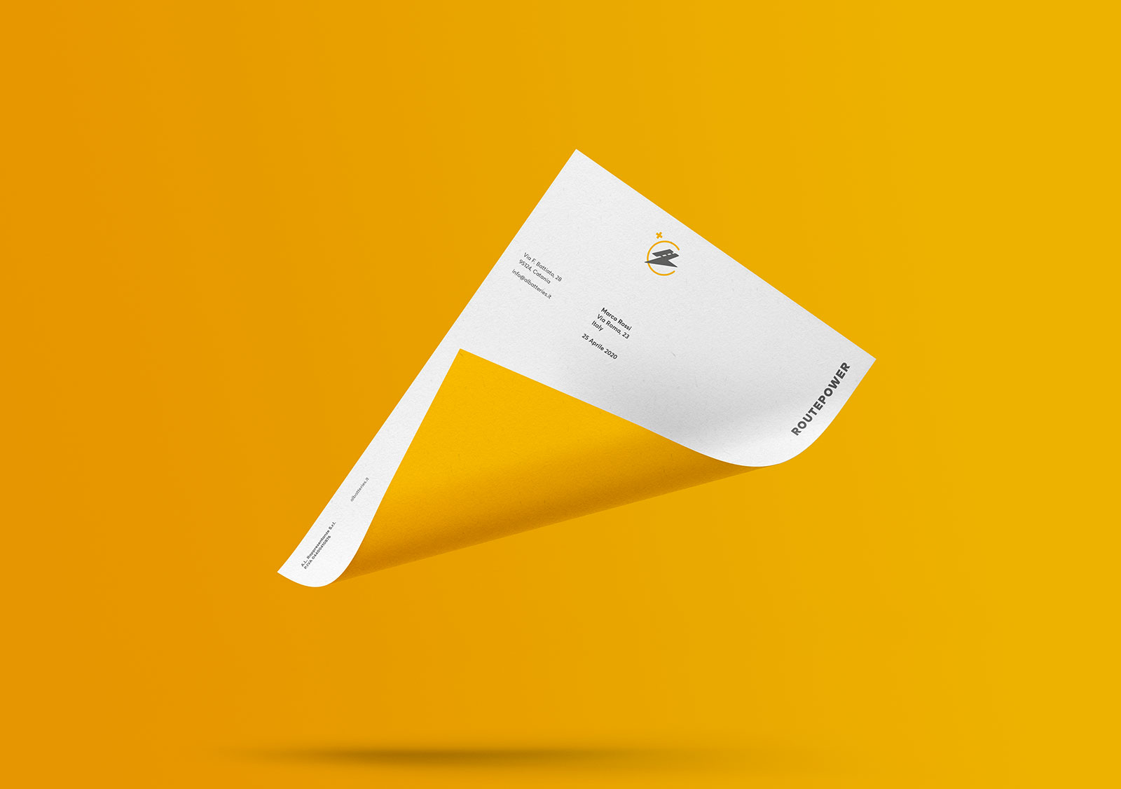 Routepower - Letterhead