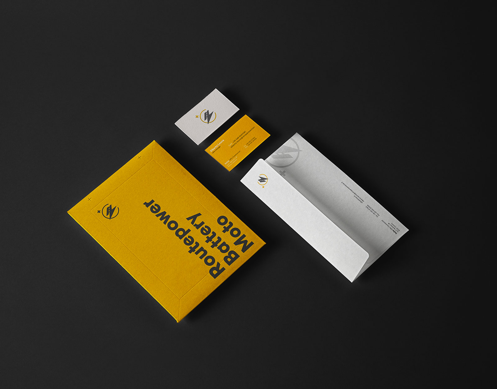 Routepower - Business Card, Stationary