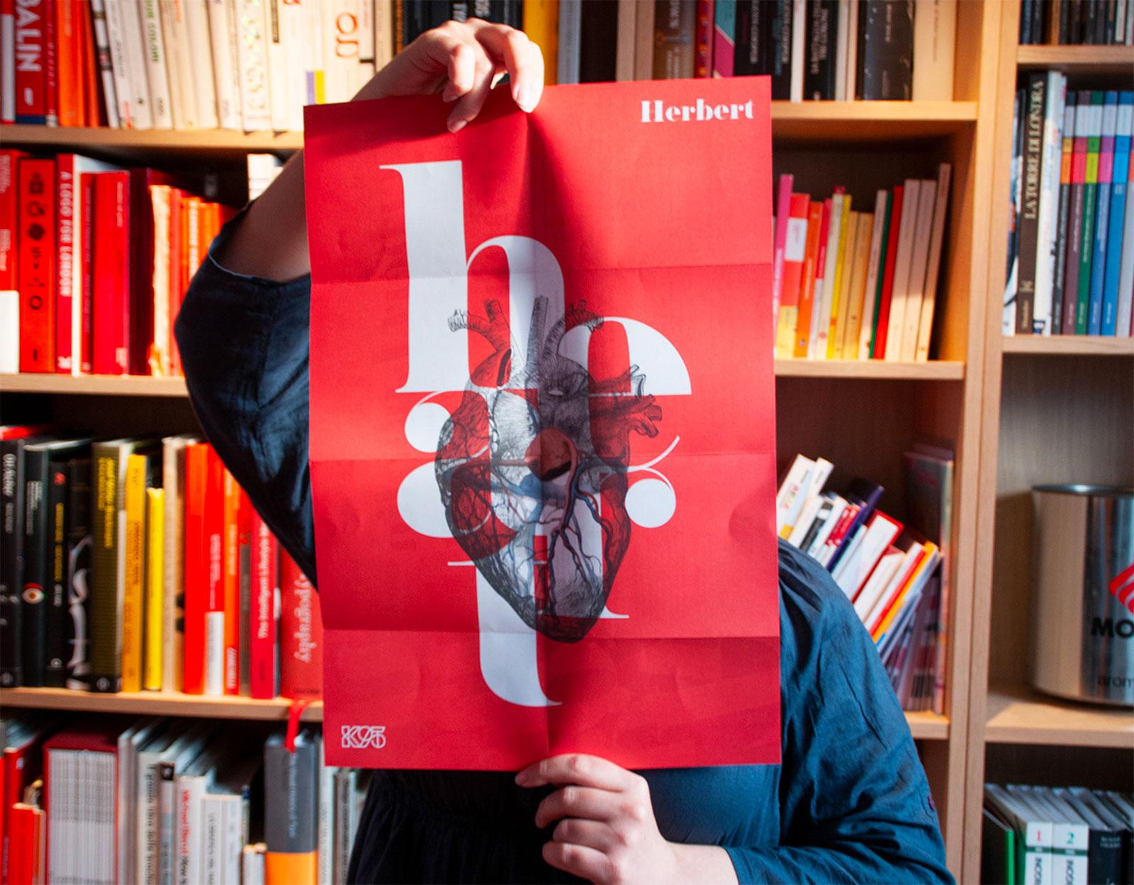 Herbert Typeface - Poster