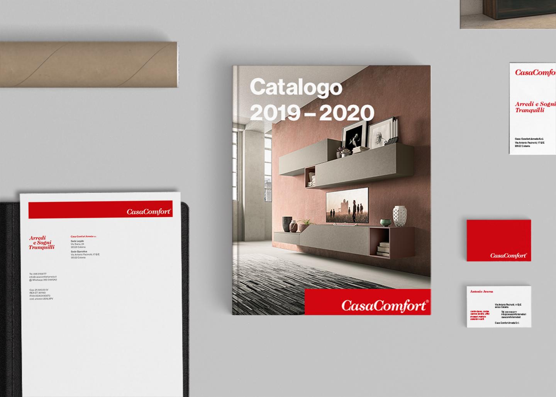 Casa Comfort - Grafica Editoriale