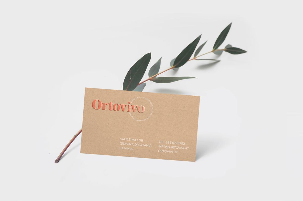 Ortovivo - Business Card