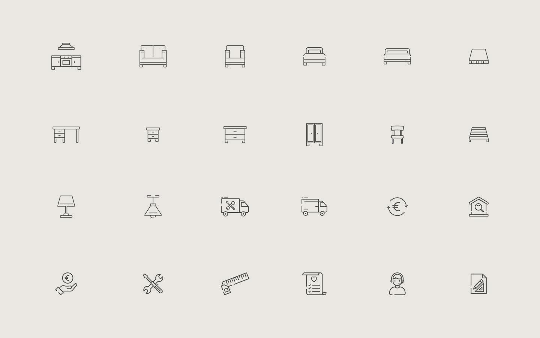 Casa Comfort - Icons Design