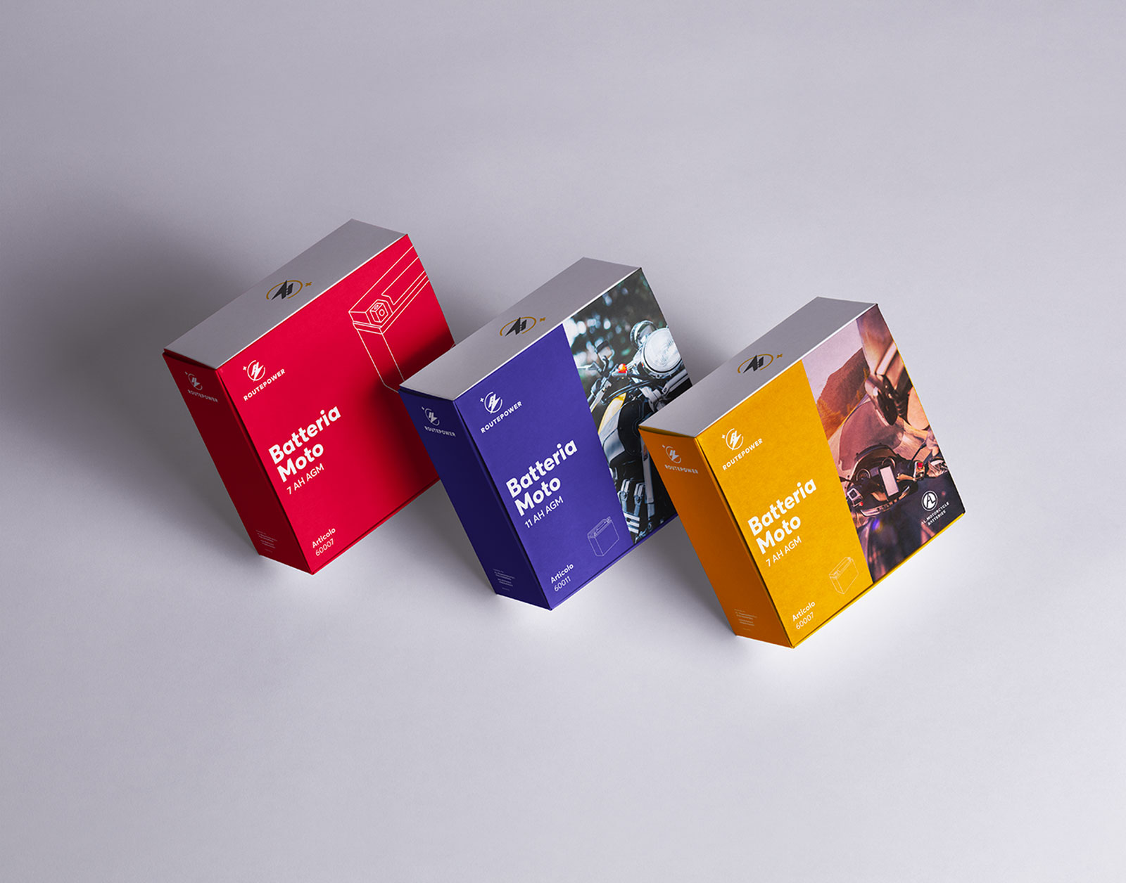 Routepower - Packaging