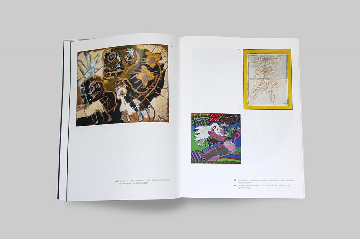 Mediartrade Exhibition - Impaginazione Catalogo mostra