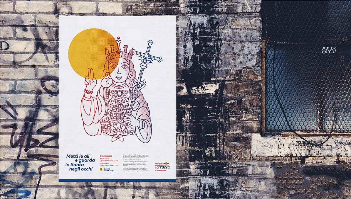 Red Bull - Sant Agata - Poster design