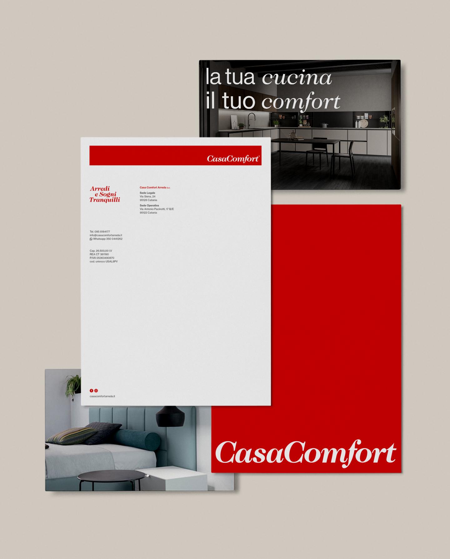 Casa Comfort - Visual Identity
