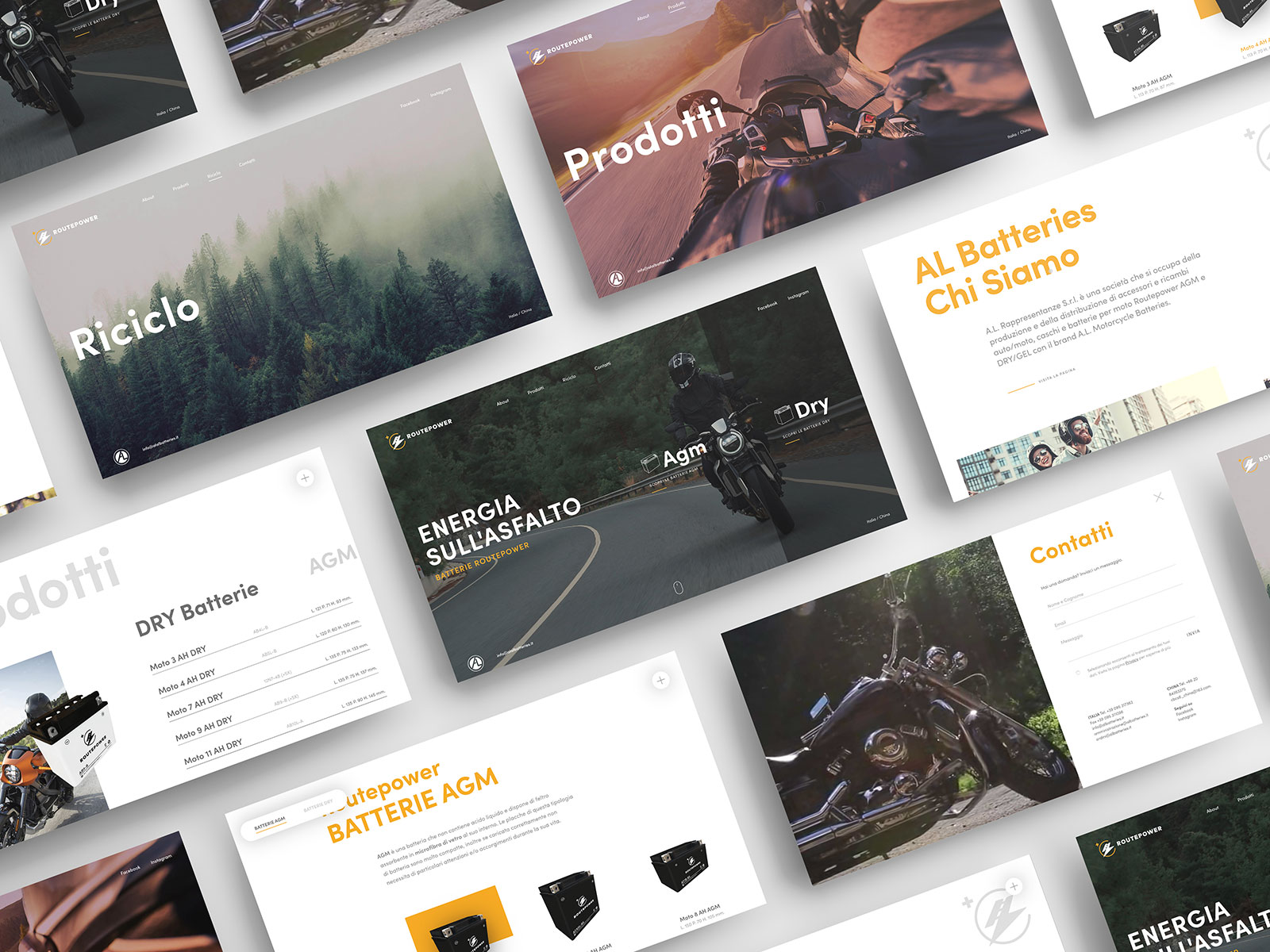 Studio K95 – Routepower - Web Design
