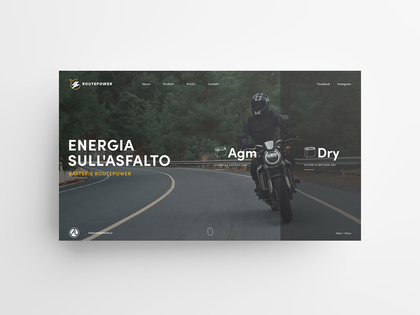 Studio K95 – Routepower - UI/UX Design