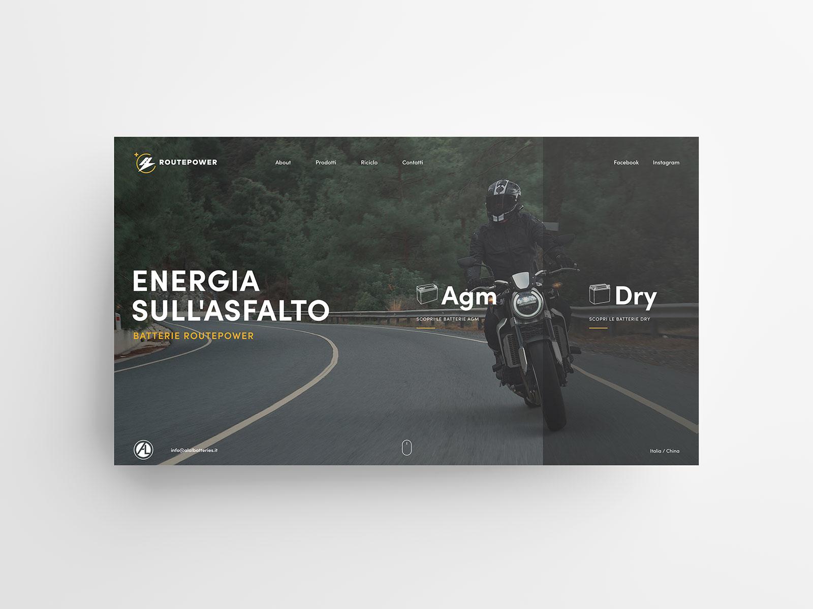 Studio K95 – Routepower - UI/UX Design