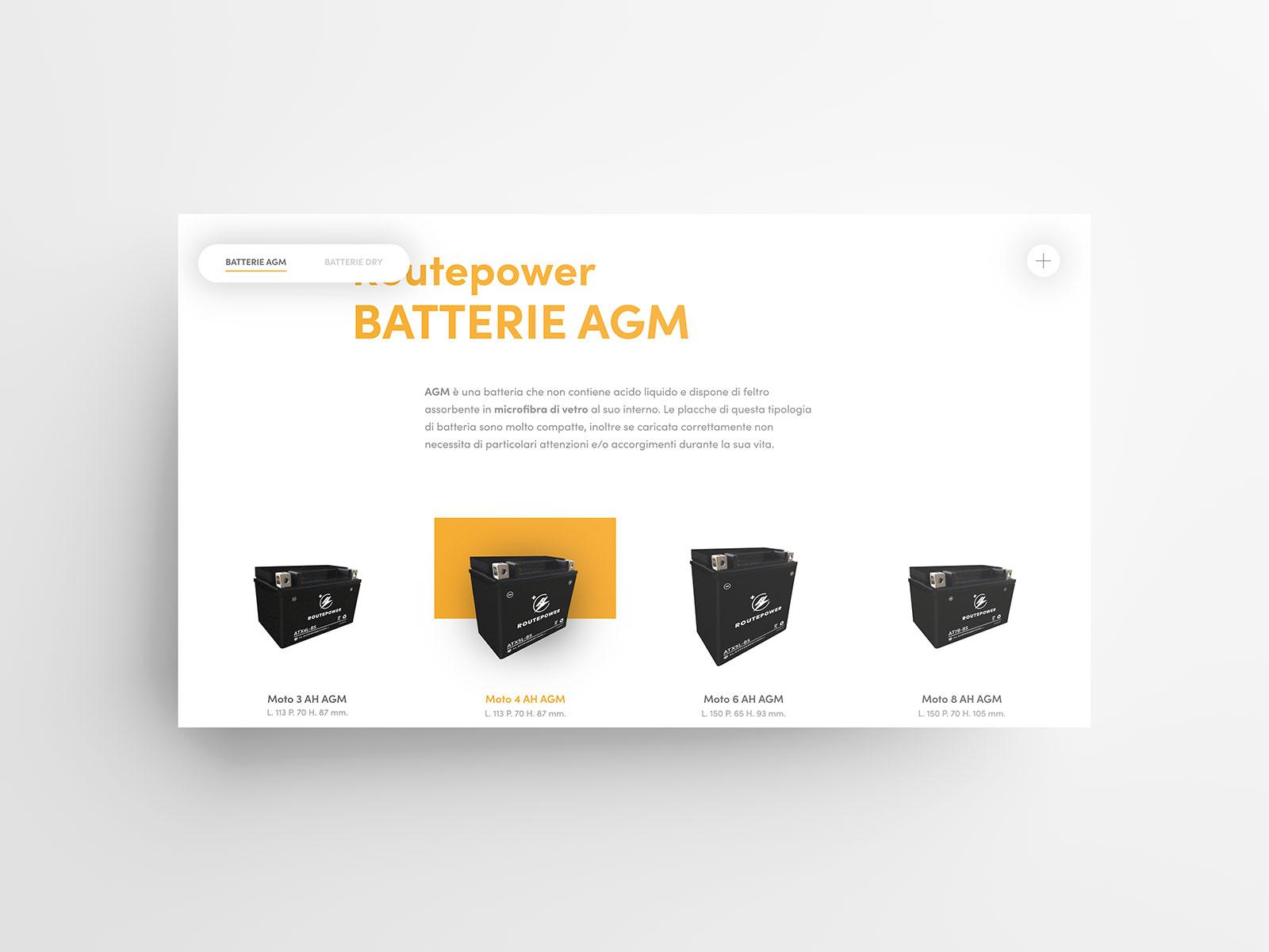 Studio K95 – Routepower - User Interface