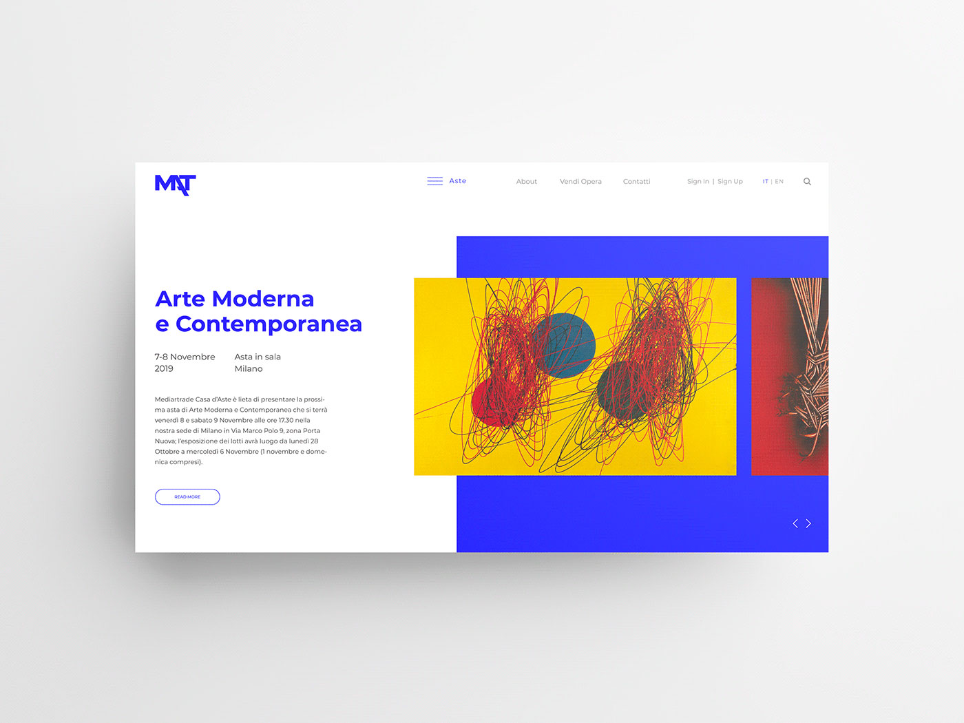 Mediartrade - Webdesign - UI/UX