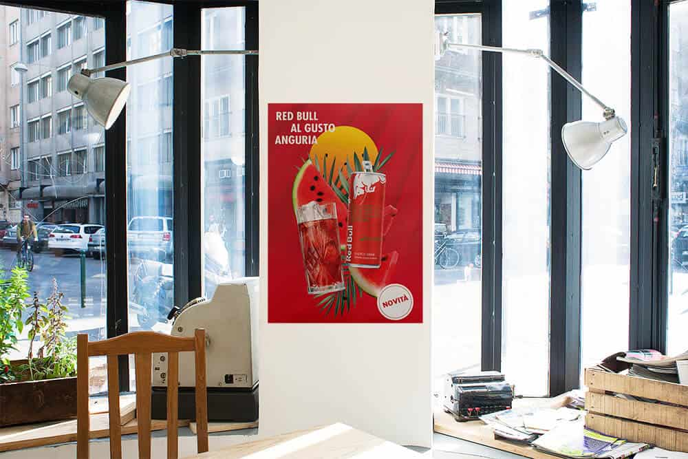 Red Bull Red Edition - poster