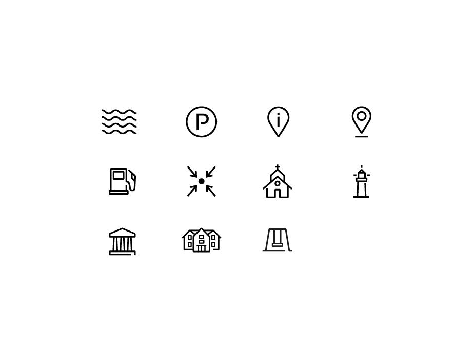 Stelvio Grotesk Icons - Place