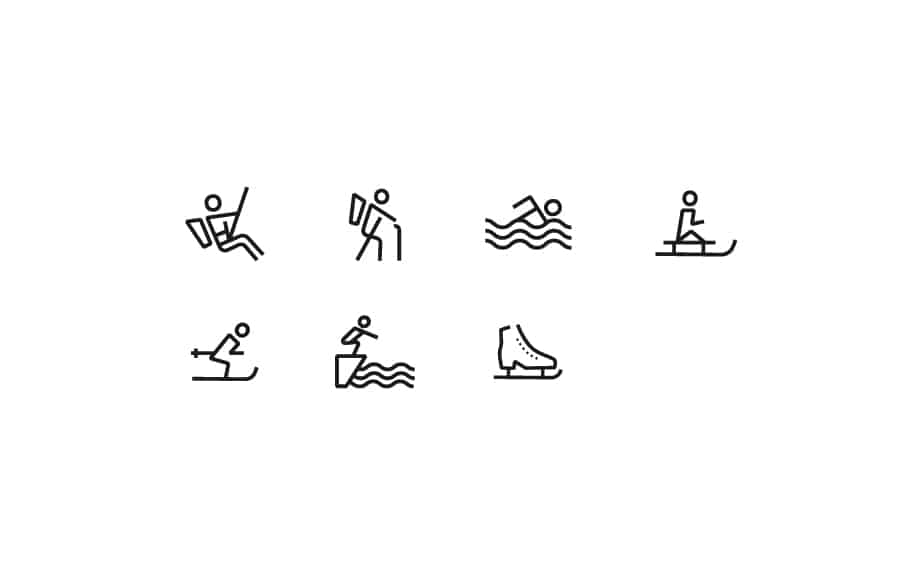 Stelvio Grotesk Icons - sport
