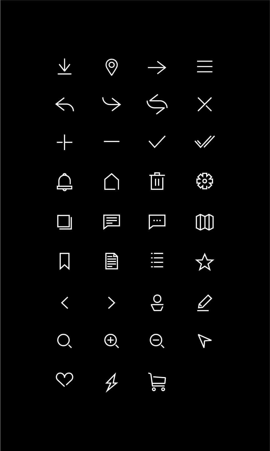 Stelvio Grotesk Icons - digital