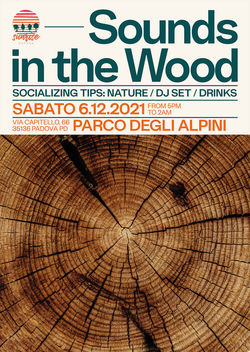 Sounds in the Wood Posters Series