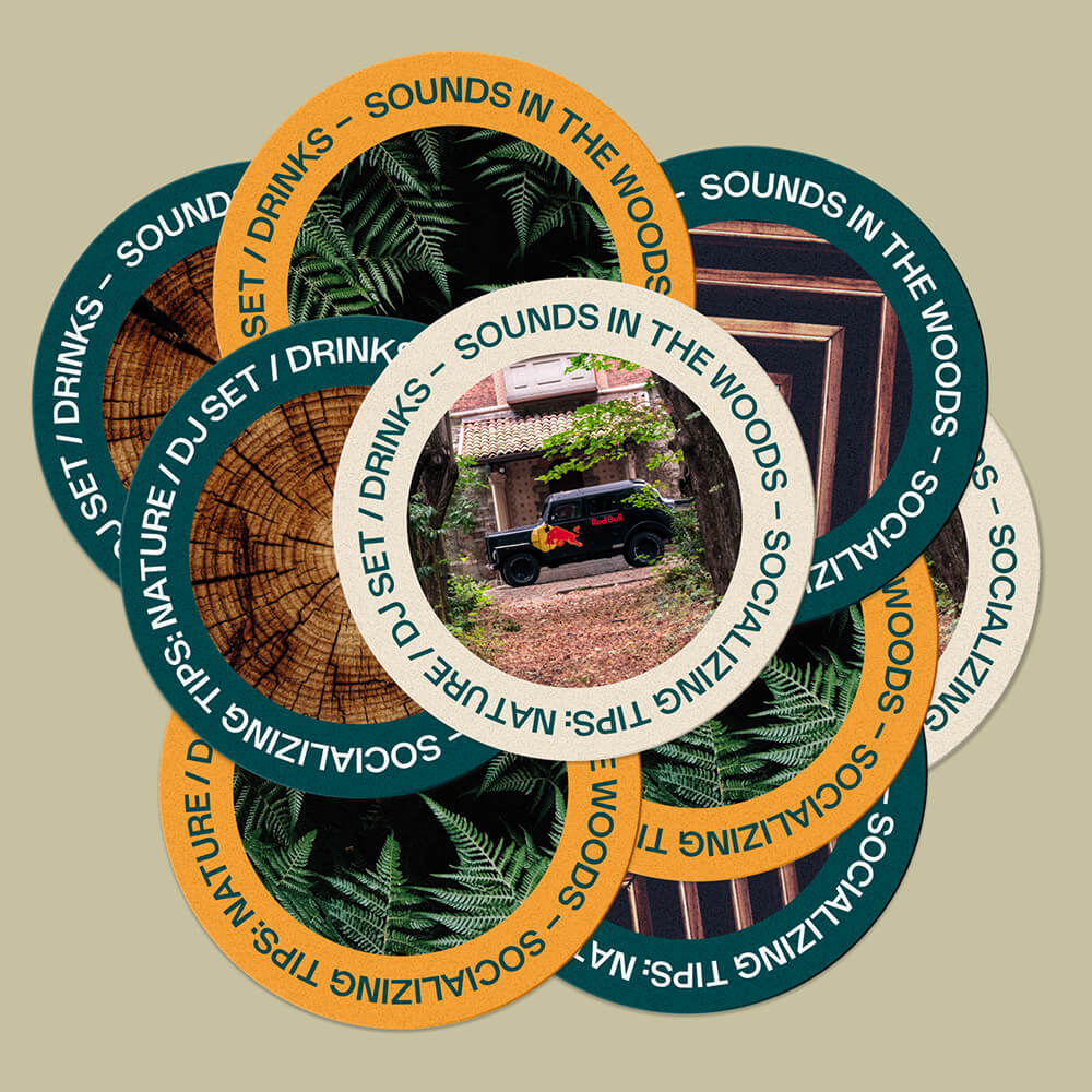 Sounds in the Wood - Stikers